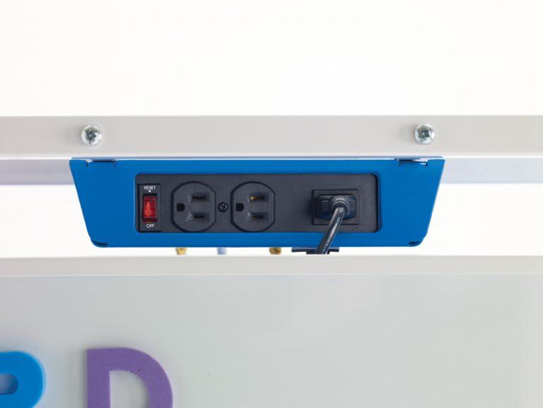 Tech Tub2 174 Dual Duty Teaching Easel With Syncing Usb Hub